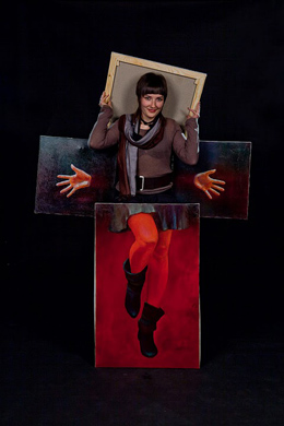 1. Портрет Кэндис Брайтс. Масло, холст.