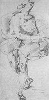26. Тициан. Набросок пером