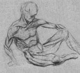 8. Учебное упражнение в анатомическом анализе живой натуры