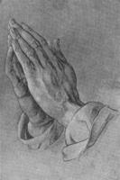 9. А. Дюрер. Рисунок рук