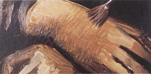 15-3. Высветляем складки одежды и цвет кожи. Портрет - Мона Лиза (Джоконда). Леонардо да Винчи
