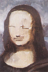 16-1. Рисуем черты лица. Портрет - Мона Лиза (Джоконда). Леонардо да Винчи