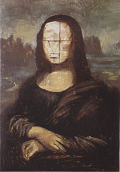 16. Рисуем черты лица. Портрет - Мона Лиза (Джоконда). Леонардо да Винчи
