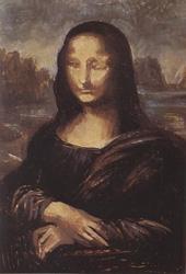 18. Применение лазурной краски. Портрет - Мона Лиза (Джоконда). Леонардо да Винчи