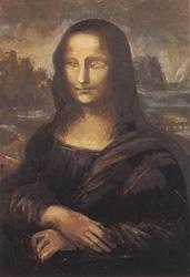 20. Завершение лица подробнее. Портрет - Мона Лиза (Джоконда). Леонардо да Винчи