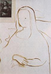 2. План. Портрет - Мона Лиза (Джоконда). Леонардо да Винчи