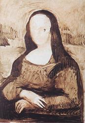 5. Прорисовка телесных оттенков. Портрет - Мона Лиза (Джоконда). Леонардо да Винчи