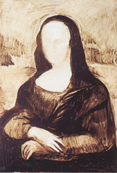 6. Построение тела. Портрет - Мона Лиза (Джоконда). Леонардо да Винчи