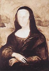 7. Добавьте детали в руки и рукава. Портрет - Мона Лиза (Джоконда). Леонардо да Винчи
