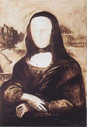 8. Портрет - Мона Лиза (Джоконда). Леонардо да Винчи