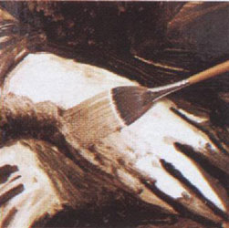 9-1. Рисуем лицо и руки. Портрет - Мона Лиза (Джоконда). Леонардо да Винчи