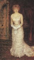 Портрет актрисы Жанны Самари. Холст, масло. 173-103 см. 1878