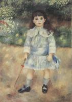 Портрет ребенка с кнутиком. Холст, масло.105-75 см. 1885