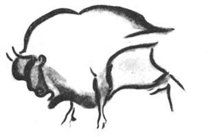 5. Зубр. Наскальное изображение. Палеолит