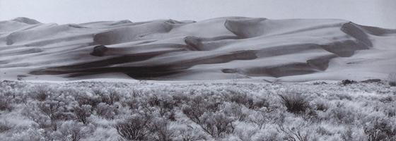 Фотографии Боба Худака. Национальный природный памятник «Большие дюны», Колорадо, США
