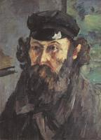 Автопортрет в каскетке. Около 1873. Холст, масло. 53х38см