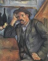 Курильщик. Около 1893-1894. Холст, масло. 91х72см