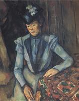Дама в голубом. Около 1899. Холст, масло. 88,5х72см