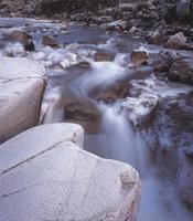 Фотографии Колина Прайора. Скалы и лед на озере Этайв. Шотландия