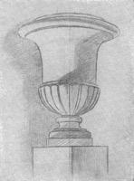 18. Декоративная ваза. 2-я стадия рисунка