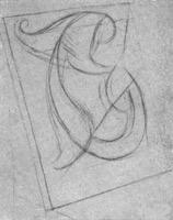 7. Асимметричная деталь орнамента. Начало рисунка