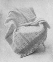 19. Орнаментальная ткань. Учебный рисунок