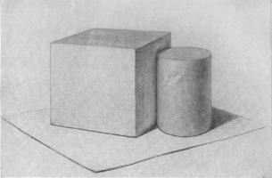 7. Куб и цилиндр