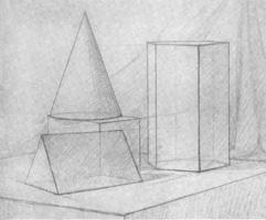8. Натюрморт из геометрических тел