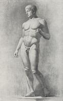 5. Законченый рисунок фигуры «Дорифора»