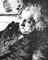 14. Цорн. Мужской портрет