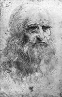 8. Леонардо да Винчи. Автопортрет
