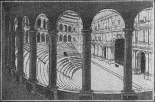 11. И. А. Фомин. Проект зрелищной залы