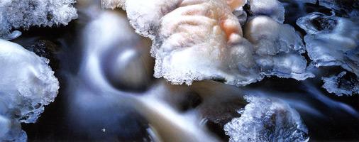 Фотографии Джима Бранденбурга. Пороги ручья Джадд