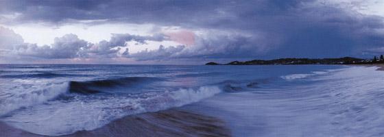 Фотографии Джона Шепарда. Вид на Тасманово море. Терригал, Новый Южный Уэльс, Австралия