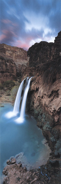 Фотографии Кена Дункана. Водопад Хавасу, Великий Каньон, Аризона, США