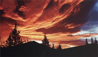 Фотографии Кеннана Уорда. Восход солнца над Текланикой