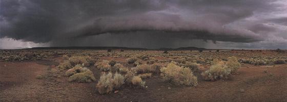 Фотографии Макдуфа Эвертона. Приближение бури. Национальный природный памятник «Вупатки», Аризона, США
