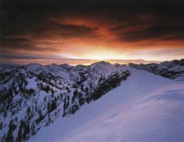 Фотографии Марка Мюнча. Хребет Уосатч, Юта, США