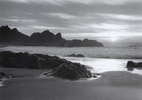 Фотографии Марти Кнаппа. Сентябрьский закат. Берег Пойнт-Рейес, Калифорния, США