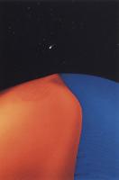 Фотографии Майкла Фрая. Песчаная дюна и комета Хейла-Бониа. Долина Смерти