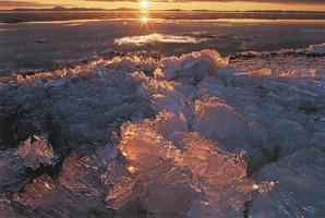 Фотографии Пэта О'Хары. Прибрежные льды в заливе Коцебу. Аляска, США