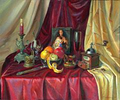 Продажа картин. Цена 7 900 грн. Голландский натюрморт (масло, холст, 50x60см)