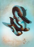 Эксклюзивная игрушка Дракон - имя Мюриэл