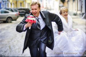 Свадебное фото, картина из фотографии