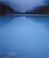 Фотографии Уильяма Нейла. Рассвет у озера Луиз. Банфский национальный парк, Канада. 1995