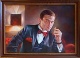 Портрет депутата Дмитрия Барабаша (портрет сделан на холсте, маслом, 50x70см)