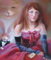 Портрет девочки в стиле ее любимой сказки - Алиса в стране чудес (Портрет на заказ по фото)