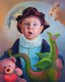 Портрет мальчика в сказочном стиле (Портрет на заказ по фото)